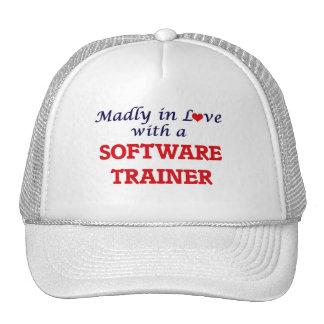 Enojado en amor con un instructor del software gorros bordados
