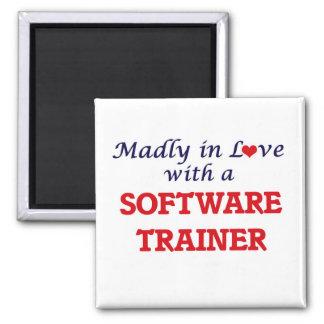 Enojado en amor con un instructor del software imán cuadrado