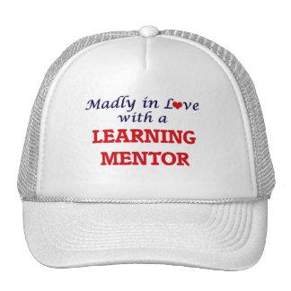 Enojado en amor con un mentor de aprendizaje gorros bordados