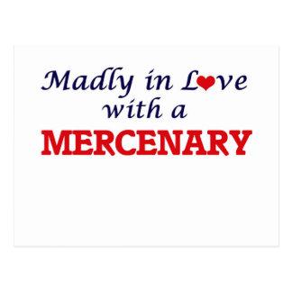 Enojado en amor con un mercenario tarjeta postal