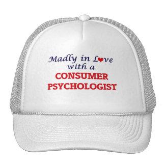 Enojado en amor con un psicólogo del consumidor gorros