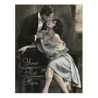 Enojado en amor tarjeta postal