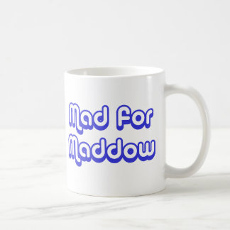 Enojado para Maddow Tazas De Café