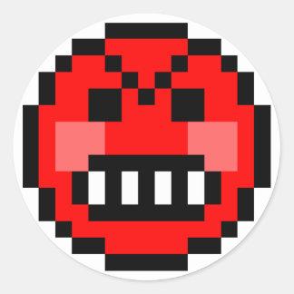 : enojado: pegatina