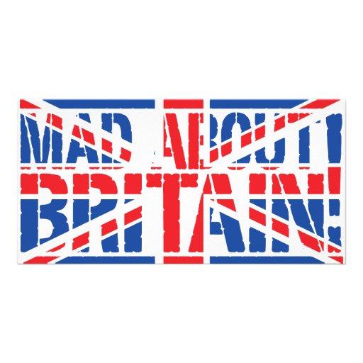 Enojado sobre Gran Bretaña Tarjetas Personales