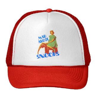 Enojado sobre la gorra de béisbol del personalizab