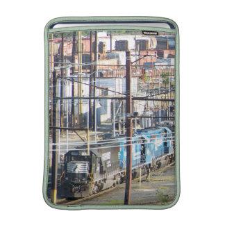 Enola Norfolk Southern Railroad Yard Harrisburg PA MacBook Sleeve