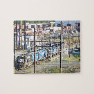 Enola Norfolk Southern Railroad Yard Harrisburg PA Jigsaw Puzzle