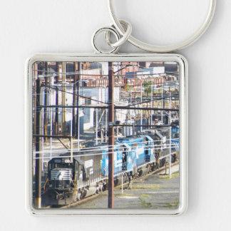 Enola Norfolk Southern Railroad Yard Harrisburg PA Keychain