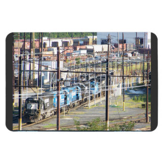 Enola Norfolk Southern Railroad Yard Harrisburg PA Magnet