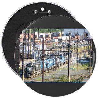 Enola Norfolk Southern Railroad Yard Harrisburg PA Pinback Button