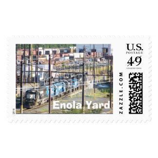 Enola Norfolk Southern Railroad Yard Harrisburg PA Postage