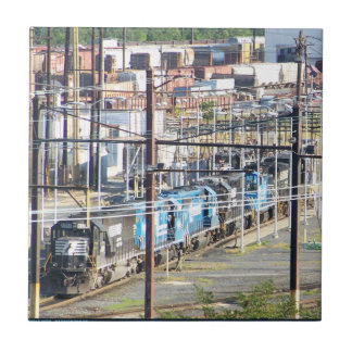 Enola Norfolk Southern Railroad Yard Harrisburg PA Ceramic Tile