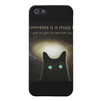 ~ enorme del universo alegre estoy aquí con usted iPhone 5 carcasa