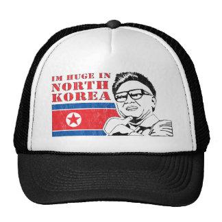 enorme solamente en Corea del Norte - Kim Jong-il Gorras
