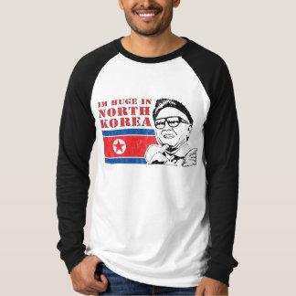 enorme solamente en Corea del Norte - Kim Jong-il Playera