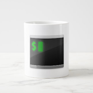 Enormous 20 oz iTerm2 Logo Mug 20 Oz Large Ceramic Coffee Mug