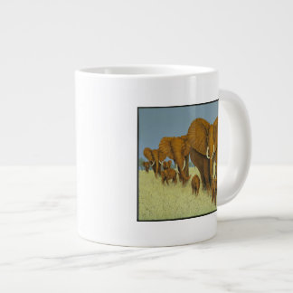 Enormous but caring 20 oz large ceramic coffee mug