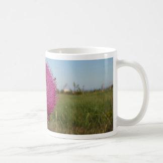 Enormous Purple Thistle Classic White Coffee Mug