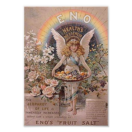 Eno's Fruit Salt Ad 2 Poster