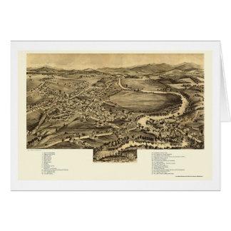 Enosburg Falls, VT Panoramic Map - 1892 Cards