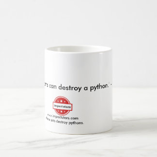 Enough Ants Can Destroy a Python. - Baba Amte Coffee Mug