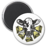 Enough Cowbell Big Dot 2 Inch Round Magnet