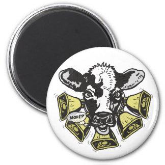 Enough Cowbell Big Dot Magnet