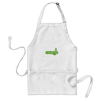 Enough (lime) apron