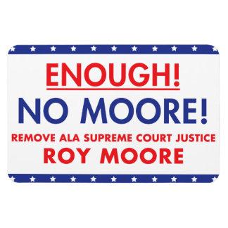 Enough! No Moore! magnet