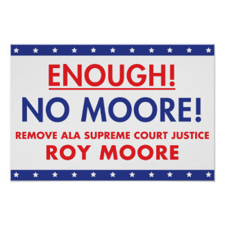Enough! No Moore! Poster