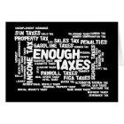 Enough Taxes Card