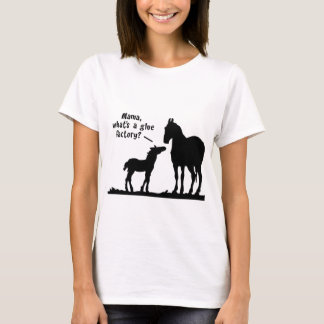 Enquiring Foal and Mother T-Shirt
