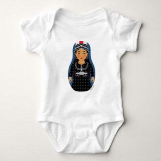 Enredadera asiria de Matryoshka del chica Polera