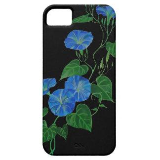 Enredadera azul iPhone 5 Case-Mate cobertura