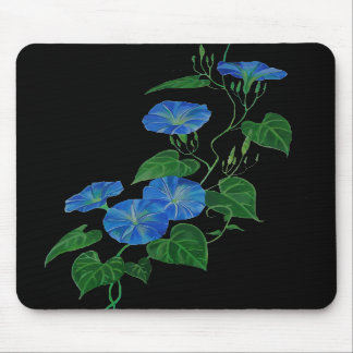 Enredadera azul tapete de ratones