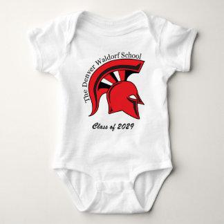 Enredadera corta del algodón de la manga del niño body para bebé