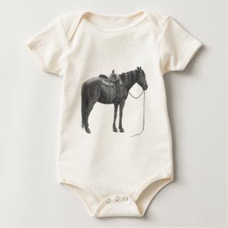 Enredadera cuarta occidental del caballo mameluco de bebé
