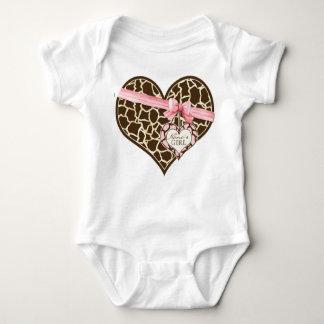 Enredadera de la niña del arco de la cinta del body para bebé