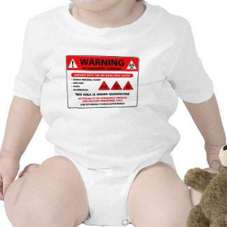 Enredadera de los CADÁVERES de WARNING-REANIMATED Camiseta