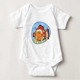 Enredadera del bebé de Kawaii Clownfish Body Para Bebé
