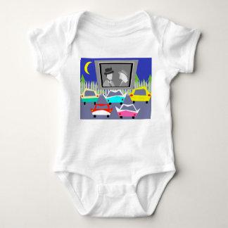 Enredadera del bebé de la película del autocinema playeras