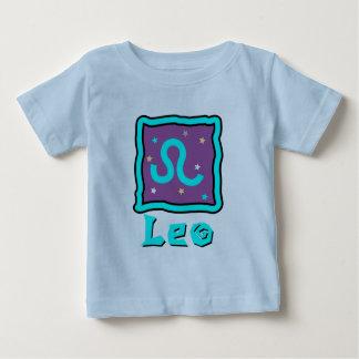 Enredadera del bebé de Leo o camiseta linda del Remeras