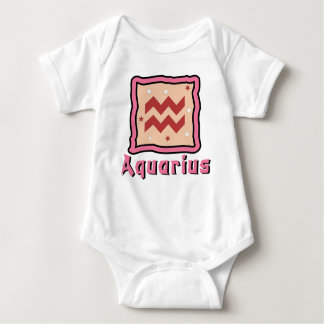 Enredadera del bebé del acuario o camiseta linda remeras