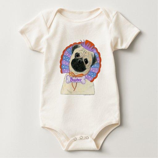 Enredadera del bebé del barro amasado trajes de bebé