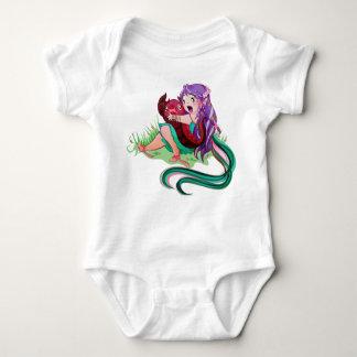 Enredadera del bebé del virgo del escorpión poleras