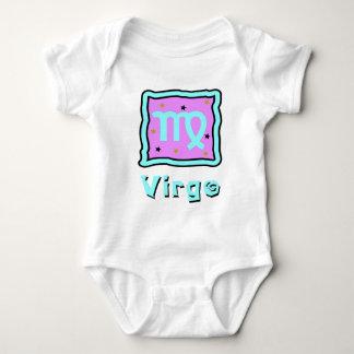Enredadera del bebé del virgo o camiseta linda del remeras