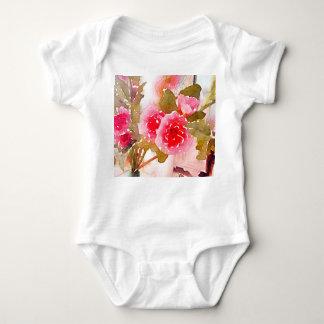 enredadera del bebé para las ilustraciones del t-shirts