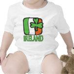Enredadera del niño de Irlanda Traje De Bebé