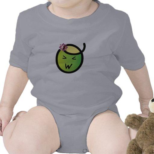 Enredadera del niño de Kawaii del Miso Traje De Bebé